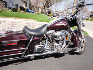 2007 Harley Davidson ROAD KING, Injection, Femme 2è propriétaire