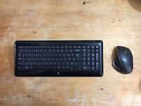 Logitech MX Performance mouse and keyboard