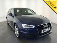 2014 AUDI A3 S LINE TDI DIESEL LEATHER INTERIOR 1 OWNER AUDI SERVICE HISTORY