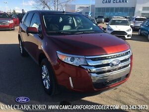 2014 Ford Edge SEL  Moonroof Navigation Leather Drivers Entry