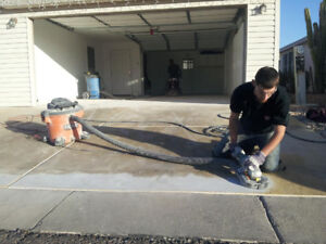 Concrete Cleaning Tool Rental
