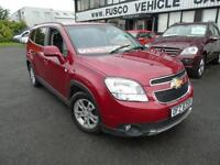 2012 Chevrolet Orlando 2.0 VCDi LT - Red - 7 Seater - 12 Months MOT!