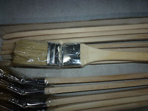 Long Reach Angled brush wooden handle