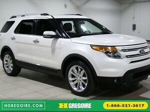 2012 Ford Explorer Limited 4WD AUTO A/C CUIR TOIT MAGS CAMERA RE