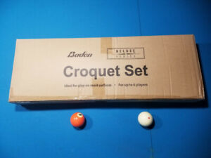 Croquet lawn set. Never opened