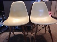6 Eames Style Chairs