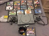 PlayStation 1 and 16 games