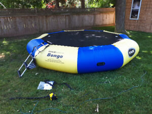 13 ft Rave Bongo bouncer water trampoline