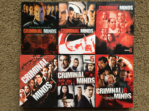 Criminial Minds Season 1 - 6
