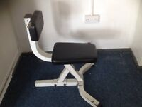 GYM WEIGHT CHAIR