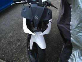 Yamaha yzf r125 project