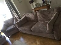 Marks and Spencer sofa and chair