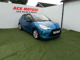 2010 CITROEN DS3 1.6 VTi D-STYLE 3 DR,ONLY 29000 MILES WITH FULL SERVICE HISTORY