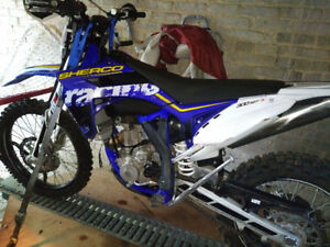 Sherco 300 SEF R- Blue plated !