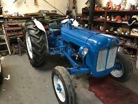 Fordson Dexta. Fully restored vintage tractor.