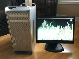Mac Pro Tower Model 1,1 with upgrades & Nice condition