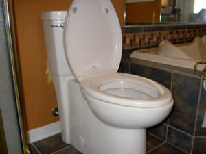 Toilette allongée American Standard (*1 an d'usure)