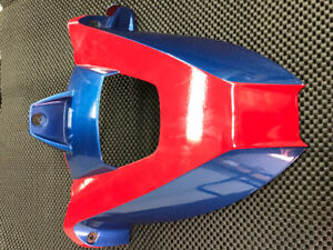BMW s1000rr Rear Hugger Fender Mud Gaurd Color Match Red & blue