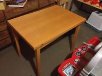Ikea Wooden Expandable table