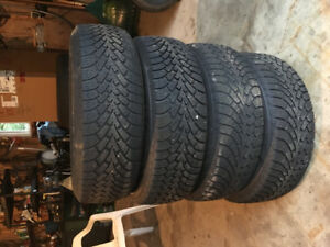 Used Winter Tires and Rims - 215/65