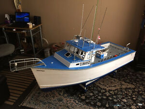 BIG 82 RC BOAT I COULD TRADE IT FOR--------------->