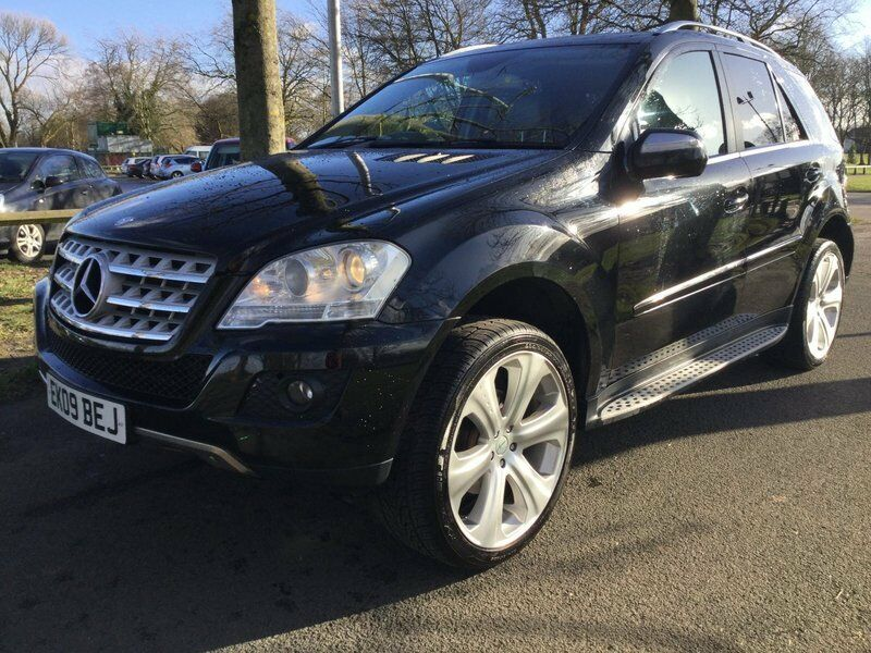 mercedes m class ml 320 cdi sport black 2009 in warrington cheshire gumtree. Black Bedroom Furniture Sets. Home Design Ideas