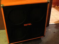 Fender mustang 1965 and 70's univox cabs