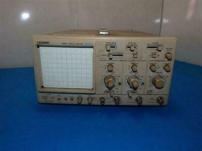 Leader 8021 20mhz Oscilloscope As Is
