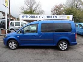 Volkswagen Caddy Maxi WINCH Wheelchair Accessible 5 Seat Disabled WAV