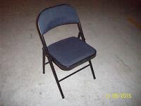 folding chair,padded seat
