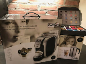 Caffitaly S07 Coffee System & Milk Frother