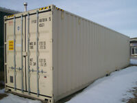 40 foot Sea Container Storage Cube 40 High One Way Like New