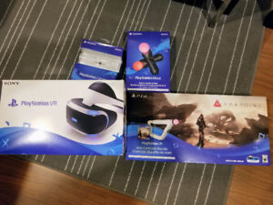 PS VR + camera + move + Farpoint bundle [only played few hours]