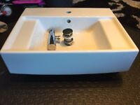 Villeroy & Boch Wall Hung Sink and Toilet