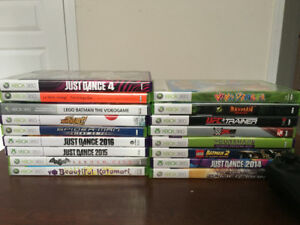 250 GB Xbox 360 w/ Kinect and 14 Games