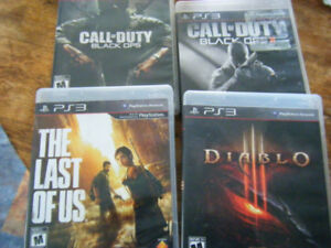 four PS3 Games