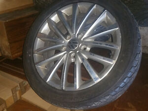 Diamondback 225/45R17 tires from 2011 VW Jetta w/ OEM rims