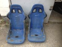 Cobra Bucket seats spares or repair