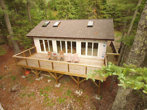 Lakefront build in Sioux Narrows