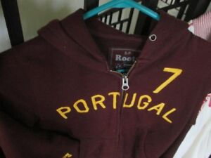 CHRISTIANO RONALDO #7 ROOTS WORLD CUP HOODY - SIZE Small