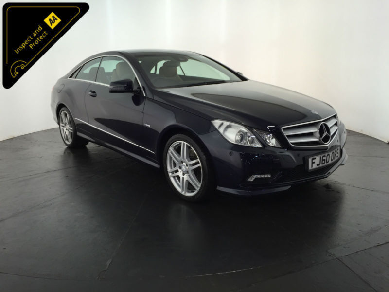 2010 60 MERCEDES-BENZ E350 CDI SPORT COUPE 1 OWNER SERVICE HISTORY FINANCE PX