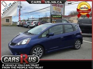 2014 Honda Fit Sport  FREE 1 YEAR PREMIUM WARRANTY INCLUDED!!