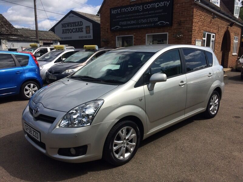toyota corolla verso 1 8 vvt i sr silver 2008 in maidstone kent gumtree. Black Bedroom Furniture Sets. Home Design Ideas
