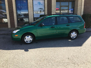 2002 Ford Focus Se Wagon, Certified! Low KM's