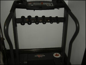 Weslo Cadence 215s folding Treadmill with weight rack Kitchener / Waterloo Kitchener Area image 3
