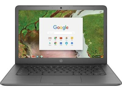(Open Box) HP Chromebook 14 G5 Intel Celeron Dual Core N3350 Processor 4GB RAM