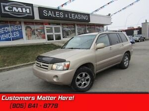 2007 Toyota Highlander Sport   AS TRADED *UNCERTIFIED* AWD! LEAT
