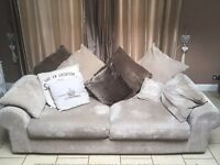 Large 3 seater sofa & 2 , 2 seater sofas
