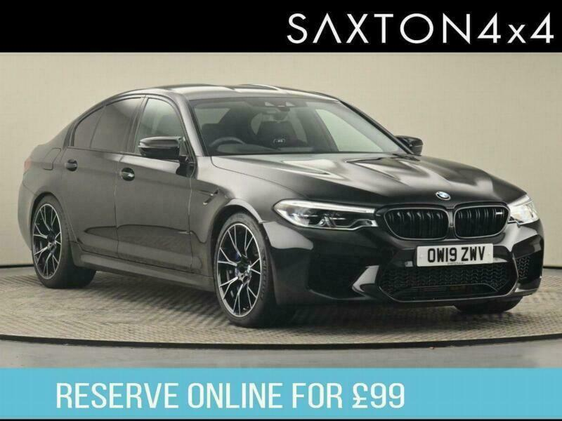 2019 BMW M5 SERIES BMW M5 Competition Saloon Saloon Petrol Automatic