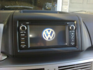 vw routan hd touchscreen navigation bluetooth radio audio dvd